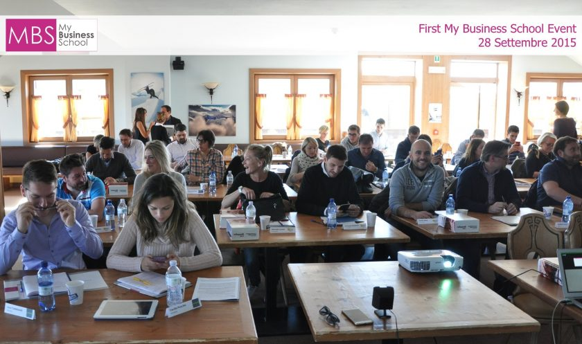 First My Business School Event 2015
